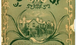 <p>The first school magazine was published in 1897 as a link between the pupils and the old girls. It was edited by Miss Anstey, (Senior Mistress) with an introduction by Miss Fewings from Australia. This first edition included an article by ex pupil Eluned Morgan Jones, written from Patagonia. </p> <p>The cover used the school clours of green and white and was designed by Miss Louie Rigotti, an old girl studying art in Manchester. The original school motto, 'Honour Before Honours' can be seen in the scroll at the top. </p>
