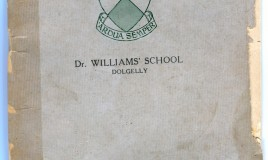 The cover page of the Dr Williams' School Cookbook