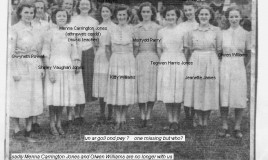 <p>Members of the school choir took part in the Youth Choir which sang at the National Eisteddfod of Wales in 1949.  Twelve pupils in the 5th and 6th forms, known as Parti Deuddeg ('Party of Twelve') won with the entry  'Y mae afon' (There is a river) by Daniel Protheroe.
