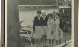 <p>It wasn't a hot day but it was enjoyable - nice boat too! </p> Oriel James, Ellen Rees, Ann Roden, Lynne Davies <br>