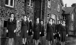 The Girls' Training Corps was formed in 1942 <br>