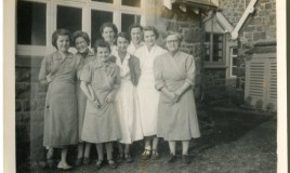 Gladys, Lyn, Ann Ogwenna, Betty Gwyn & Jane <br>