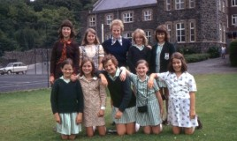 <p>Last class of Upper III's before the school closed in 1975.  