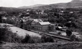 <p>This image shows the school as it looked in 1960. The campus has been extended dramatically since then. It is now home to Coleg Meirion Dwyfor. The tennis courts and craft room in the picture are no longer there.  </p> <p>Coleg Meirion Dwyfor offers a range of academic and vocational courses post GCSE </p>