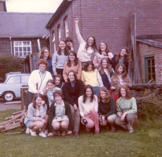 Group of pupils of the 60's