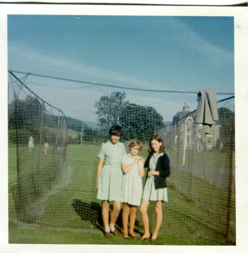 Cricket in the nets 1969