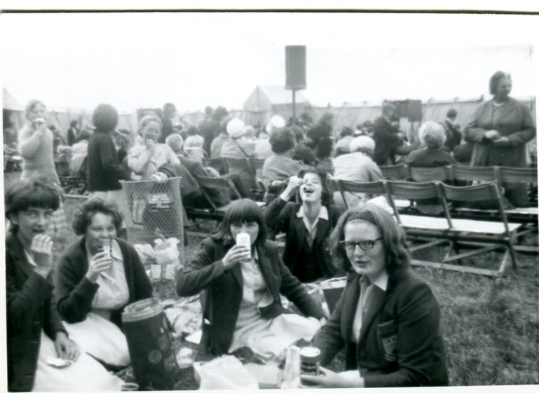 Picnic at the Llangollen Eisteddfod 1965S