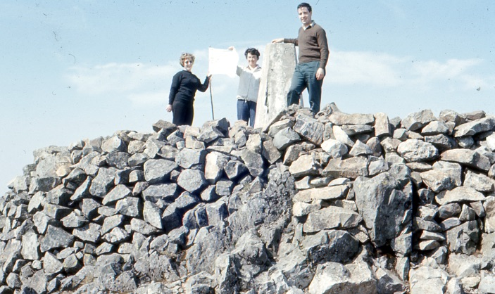 Staff on Top of Cader