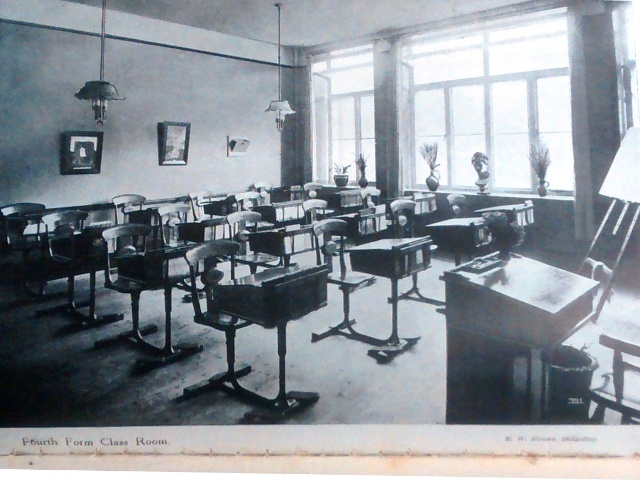 The new fourth form classroom, school magazine 1912