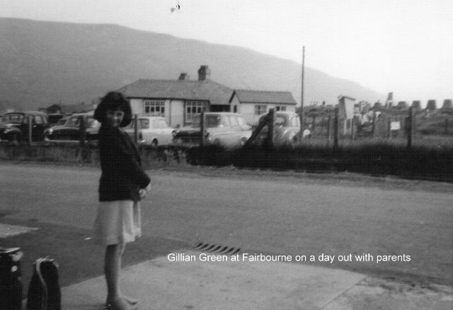 Gillian Green on a day out to Fairbourne 1960s
