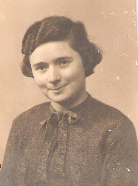 Gladys Dutton, a DWS boarder from Mexico in 1937