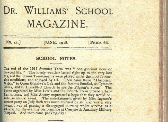 Summer Term 1917 'One glorious hour of crowded life'