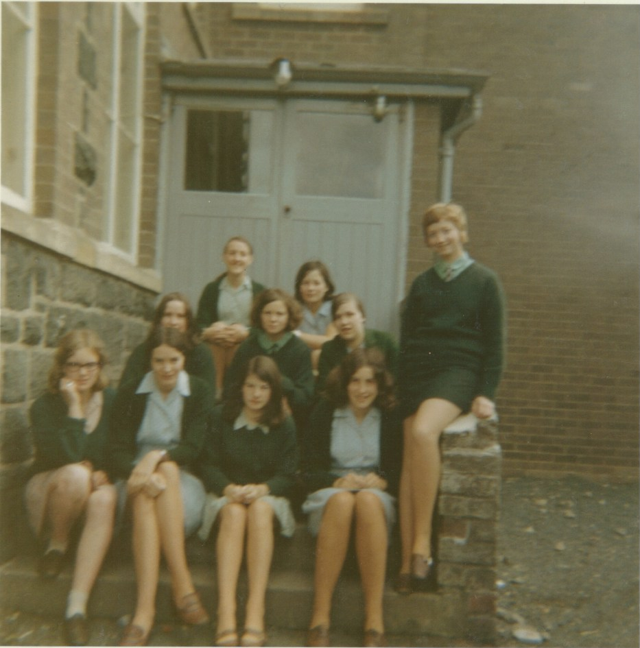 Pupils in Summer Uniform circa 1969 to 1970