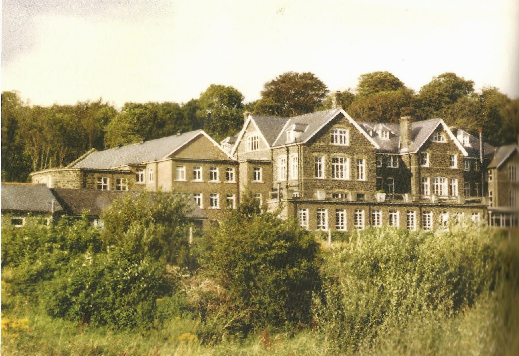 Rear view of Dr Williams' School