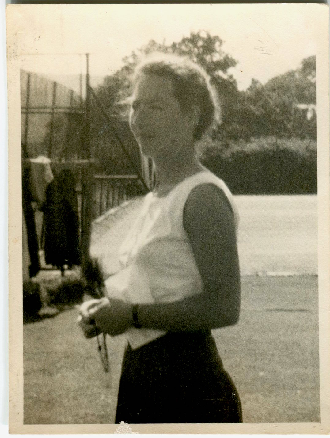 New Member of Staff 1960 - Miss Cunnningham 2nd in PE dep.