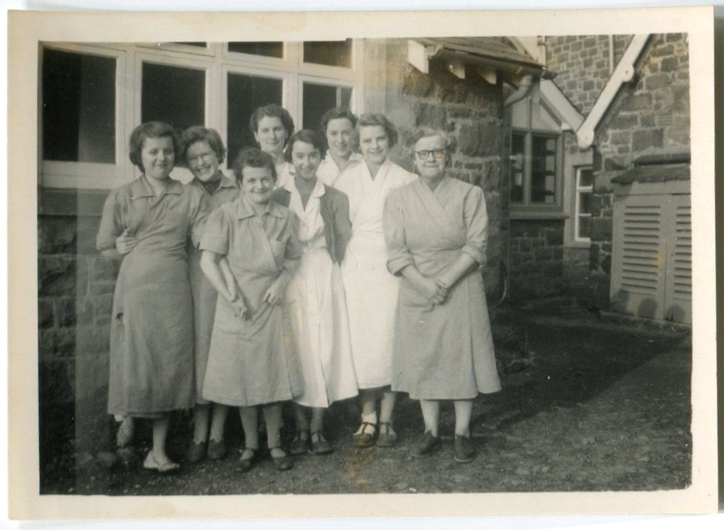 Kitchen & Domestic Staff 1950s