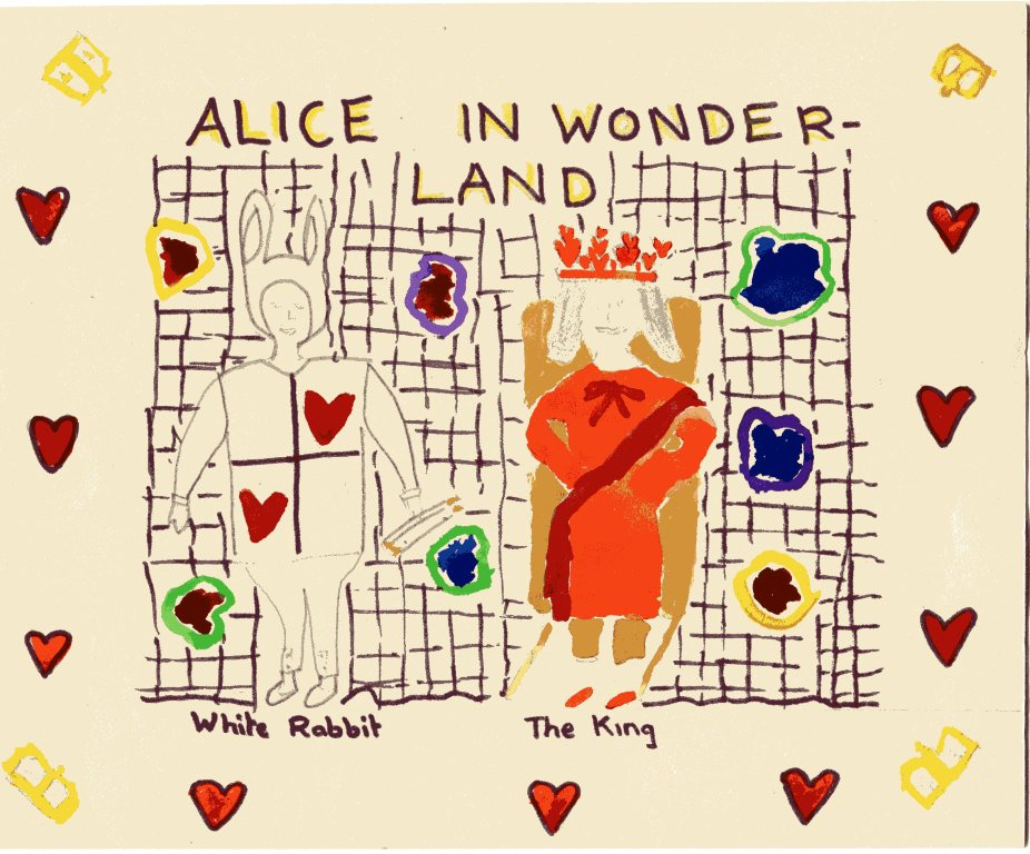 The Programme for Alice in Wonderland