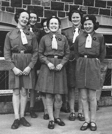 Girl Guides group photograph, 1953
