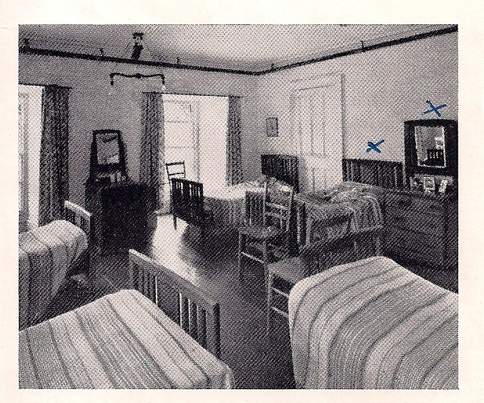 Dormitory at Glyn Malden, Late 50s