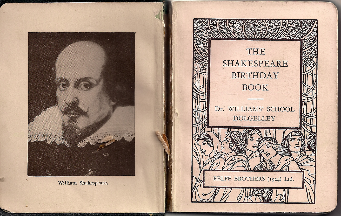 The Shakespeare Birthday Book  2 of 3
