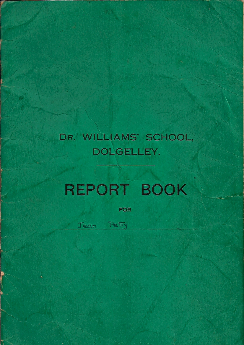 Cover of DWS Report Book, 1938-44