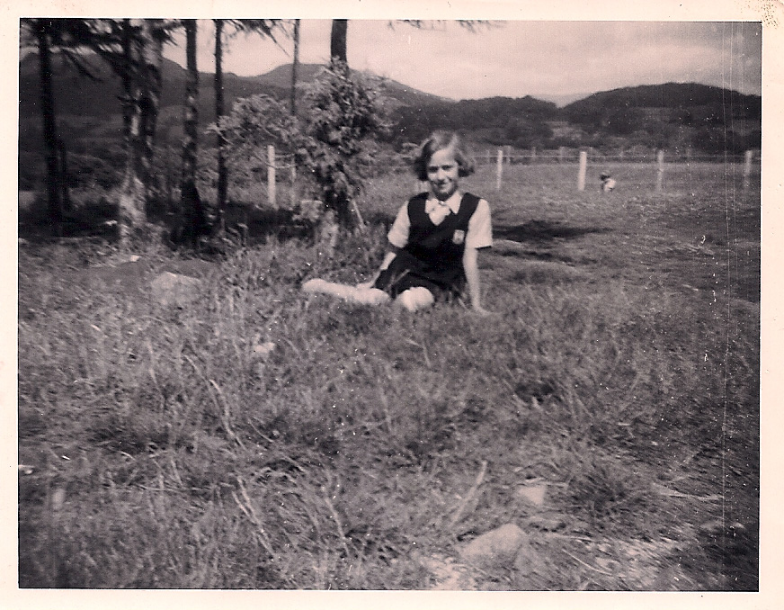 Sue Crowther at Glyn Malden, Summer 1961