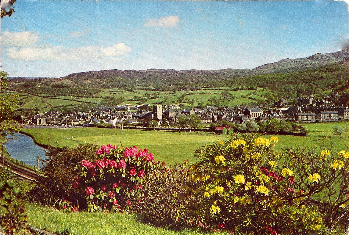Postcard of Dolgellau, early 1960s