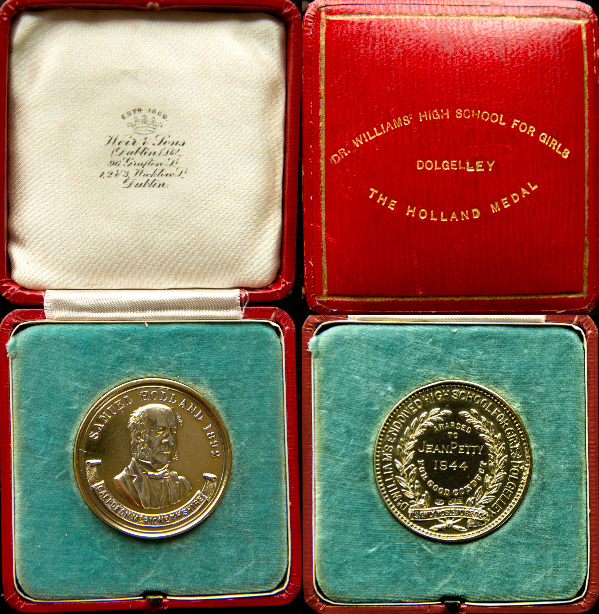 The Holland Medal, 1944