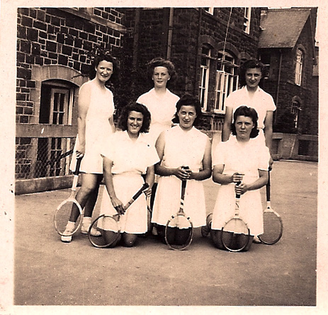 Tennis Team, mid 40s